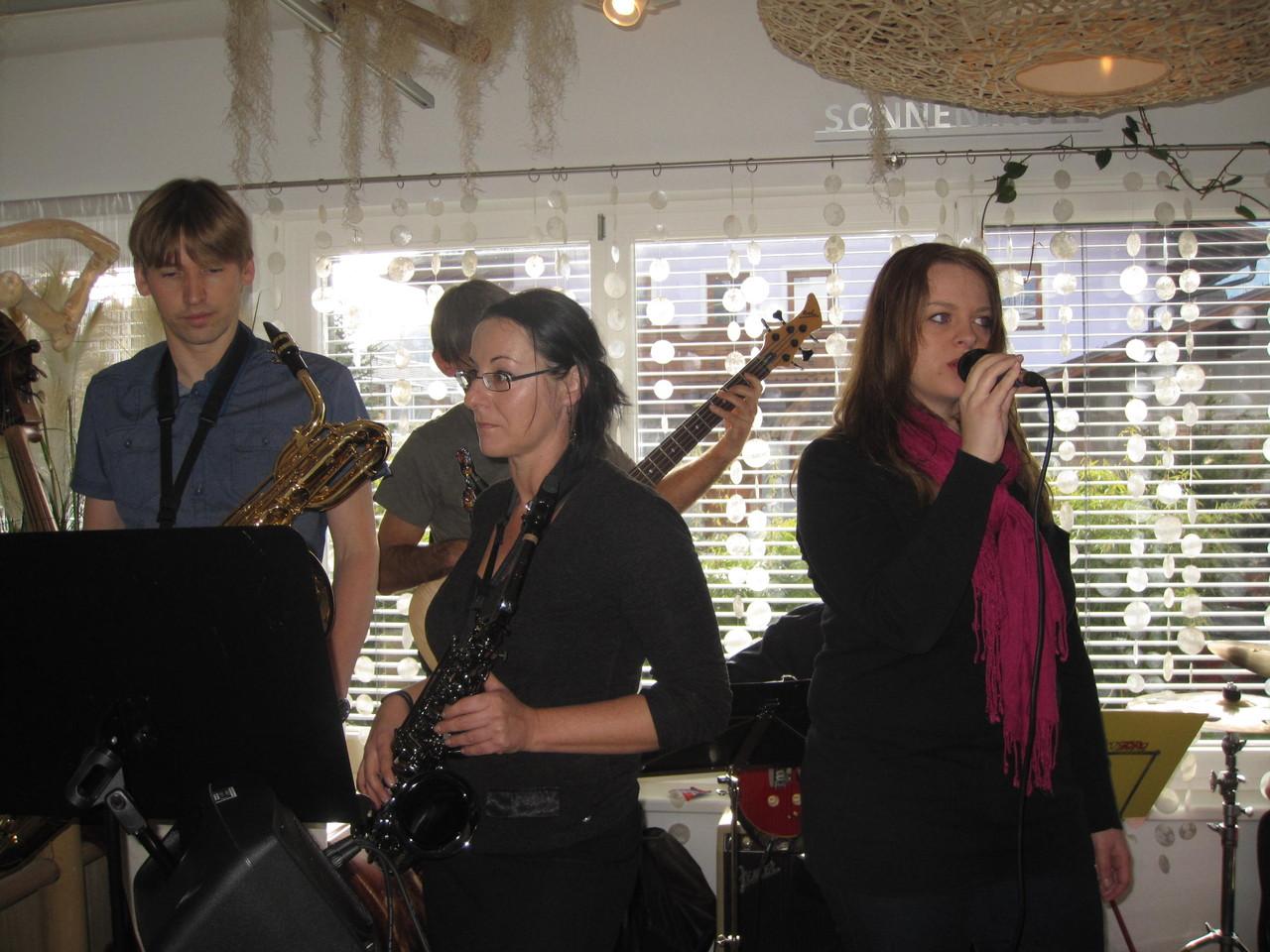 Nadine, Iris und Ronny