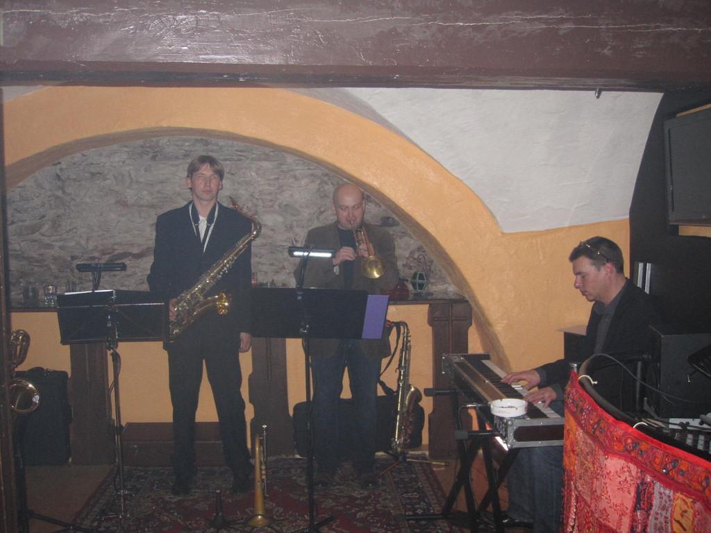 Ronny, Stefan und Heli