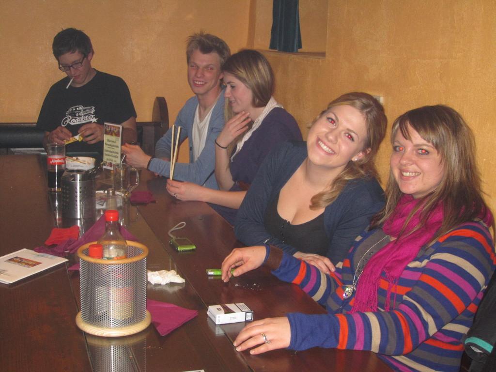 Unsere Groupies Sarah und Nadine
