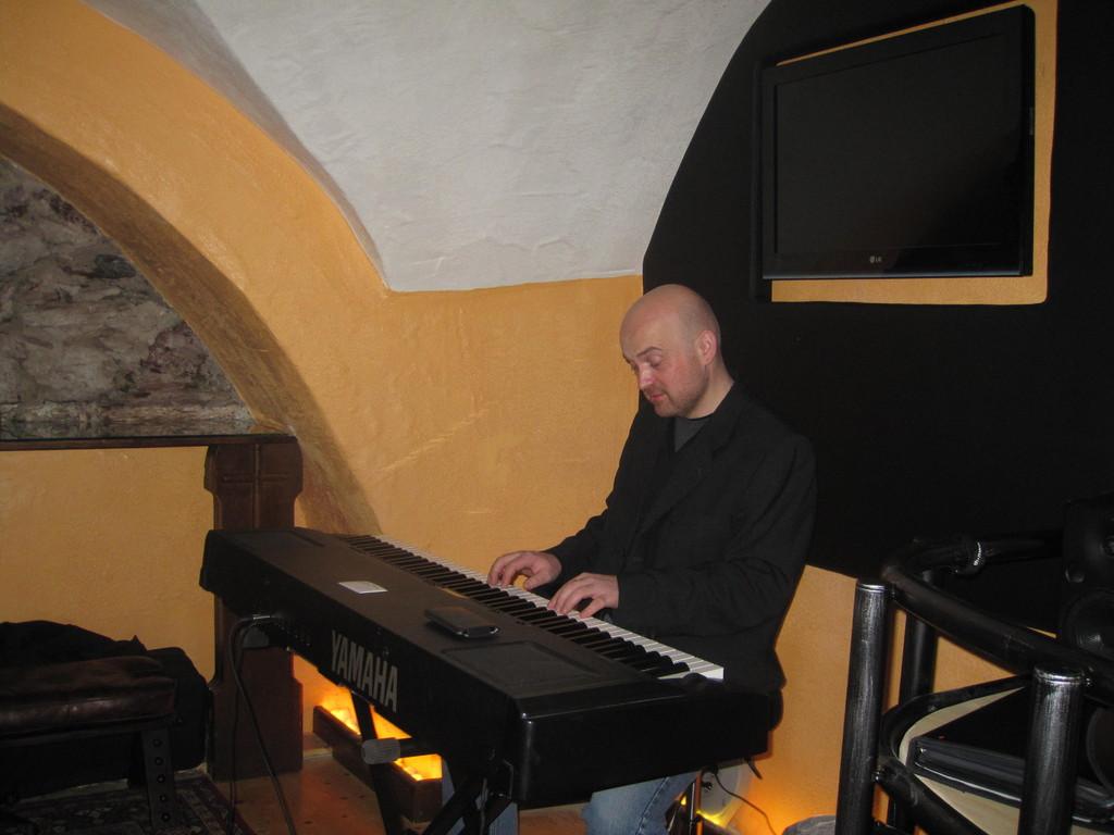 Stefan Klinglhuber am Piano
