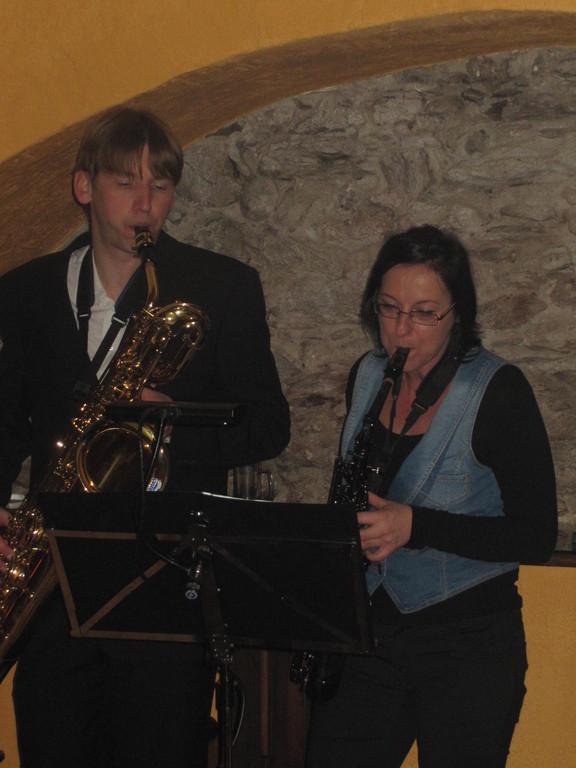 Iris Faimann und Ronny Lutzmann