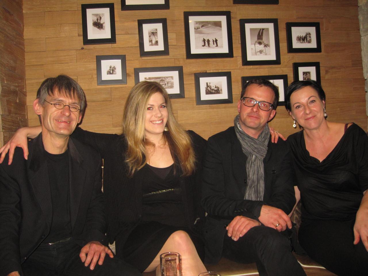Lupo, Sara, Charly und Iris