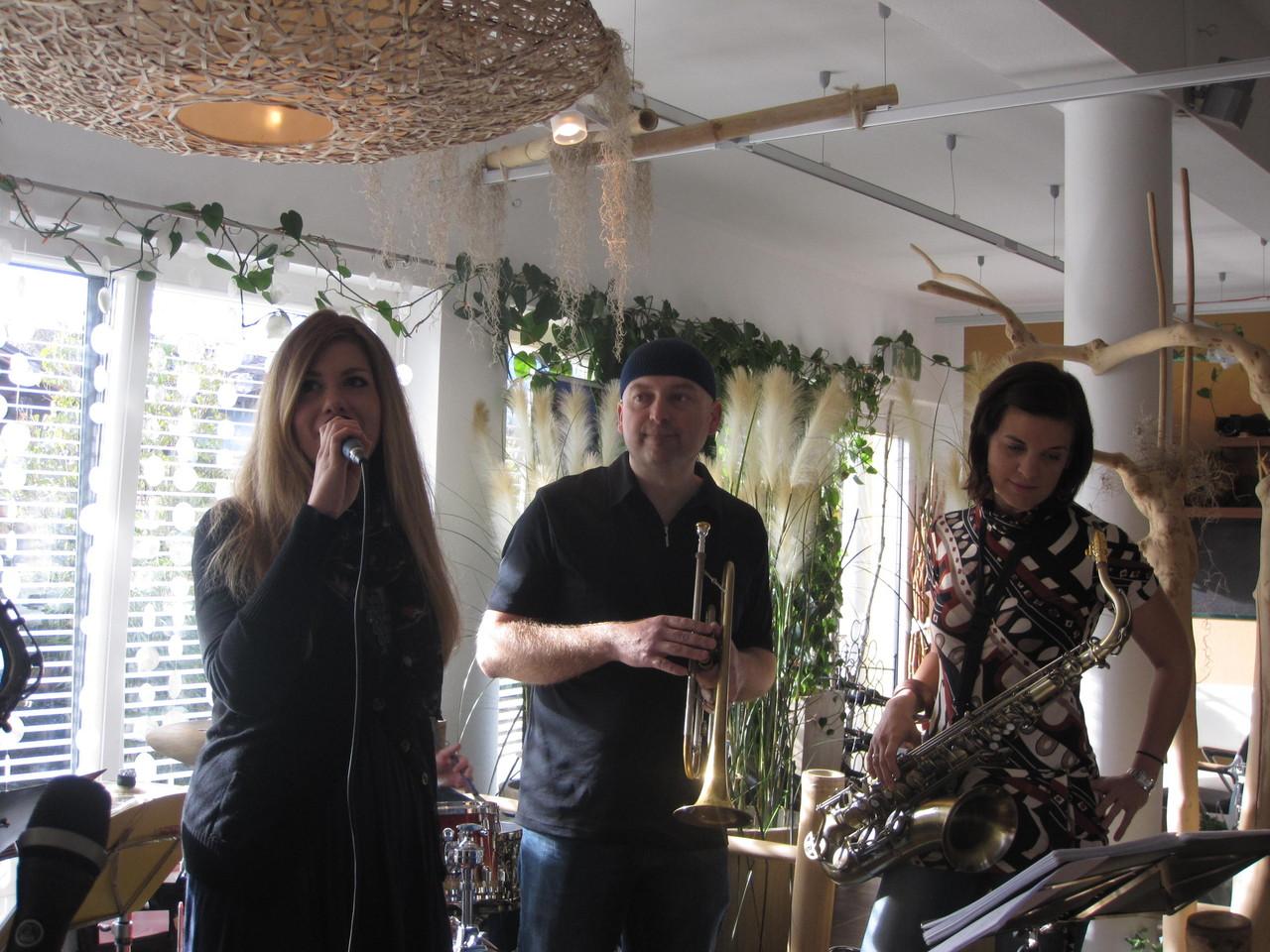Sara, Stefan und Sissi