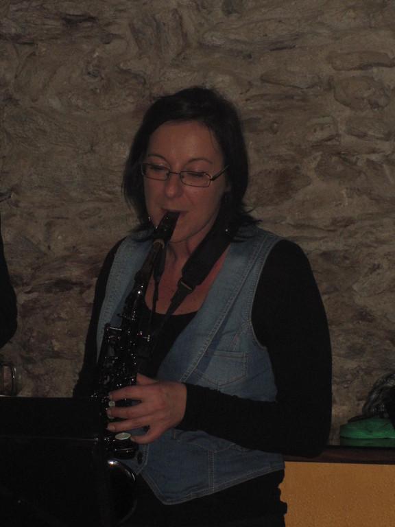 Iris Faimann mit ihrer Black Pearl