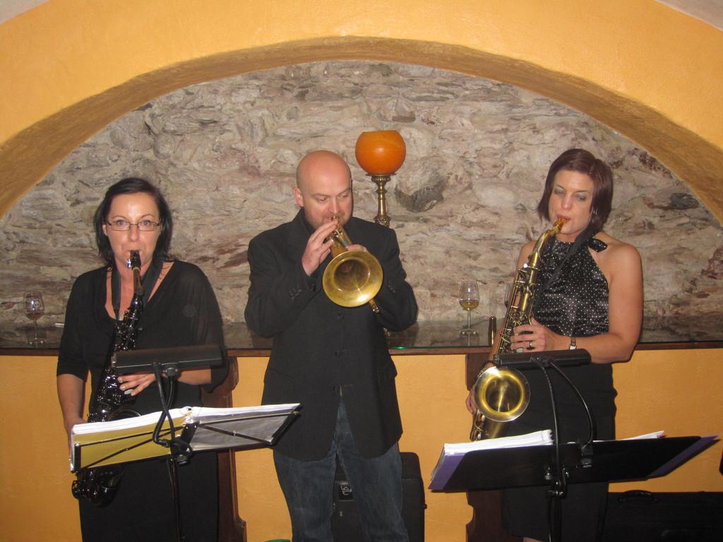 Iris, Stefan und Sissi