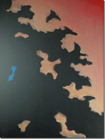 SCHADUW 2 - Acryl 100 x 80 cm