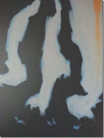SCHADUW 1 - Acryl 100 x 80 cm