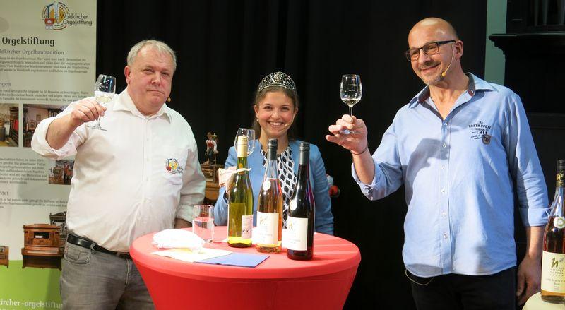 Online Weinprobe im Orgelbauersaal