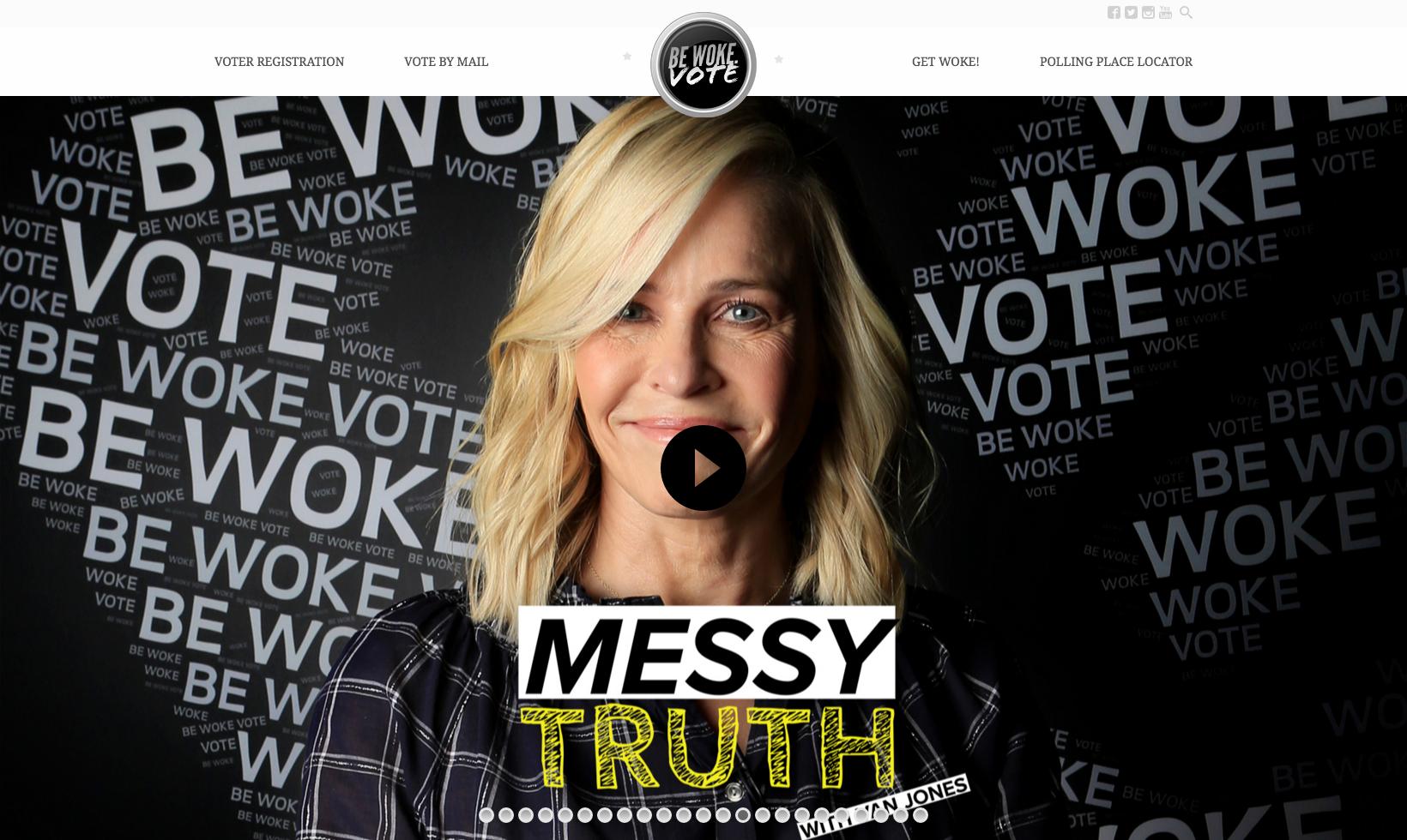 """Chelsea Handler for  """"Messy Truth"""""""