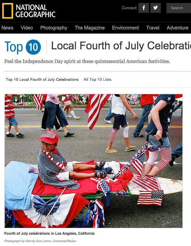 USA Patriotism for National Geographic, USA