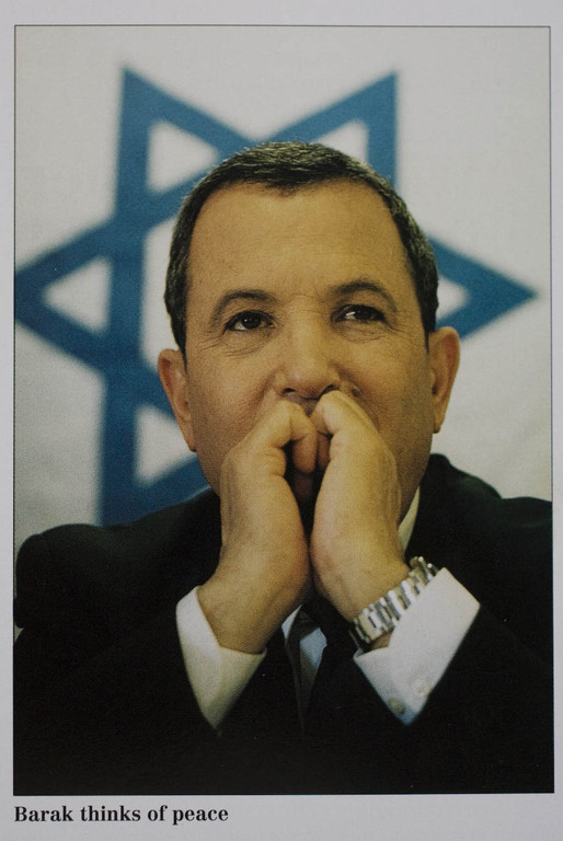 Former Israeli Prime Minister Ehud Barak for The Economist, United Kingdom