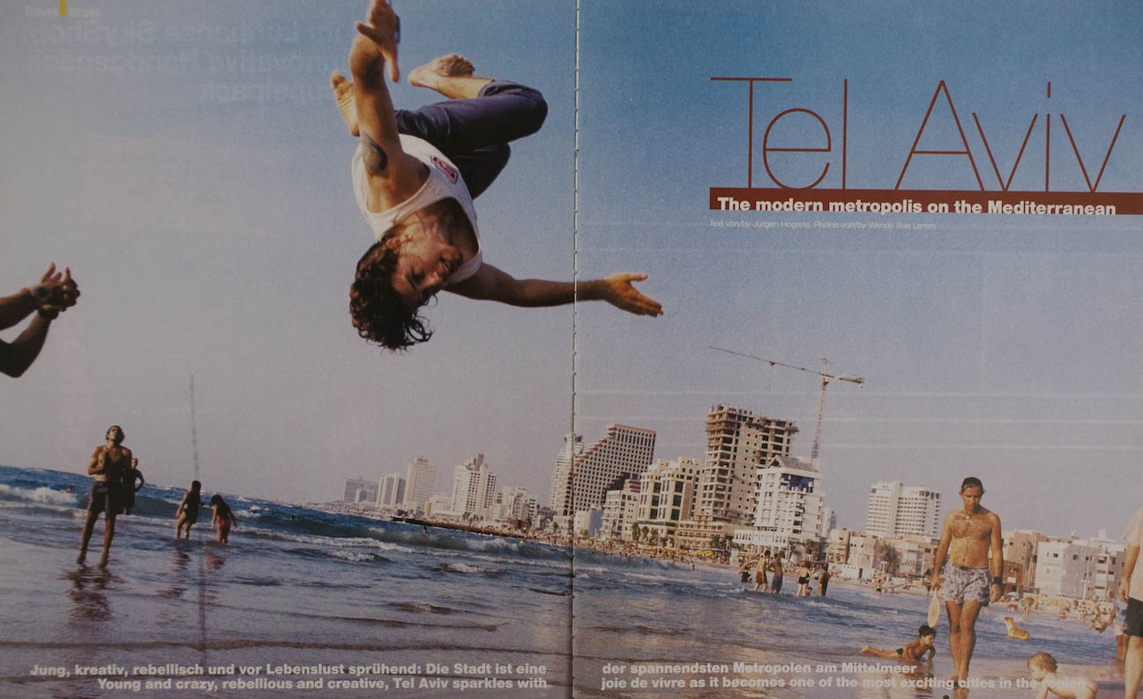 Tel Aviv for Lufthansa Magazine, Germany