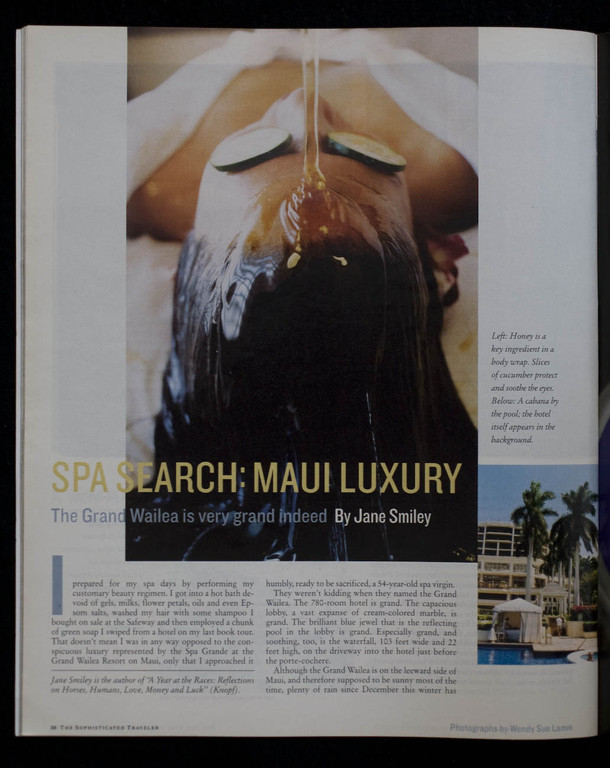 Maui Luxury for The New York Times Magazine