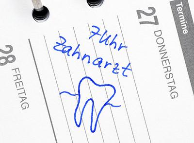 Termine sind schon ab 7 Uhr in der Zahnarztpraxis Kerner in Konstanz möglich.