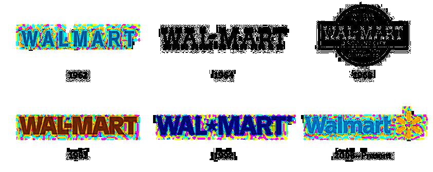 Entwicklung Logo Walmart