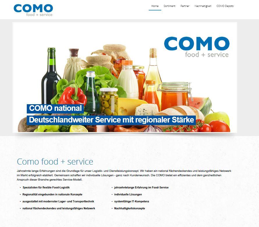 Webseite Como