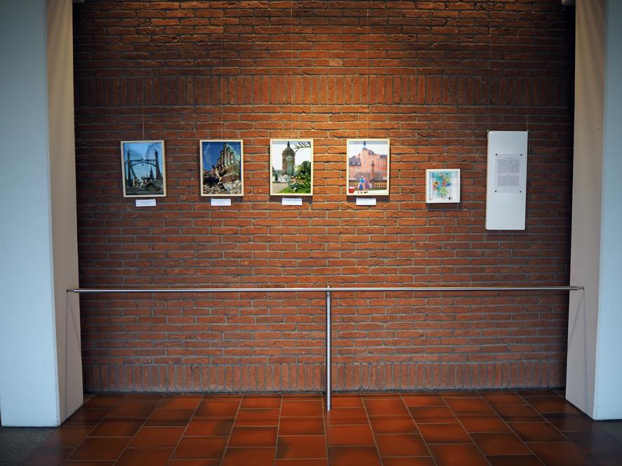 The Germinis: In Ulm, um Ulm und ... (Ulm), Künstlerkolonie (Darmstadt), Bewohner des Wasserturms (Mannheim), Schwätzingen (Schwetzingen)
