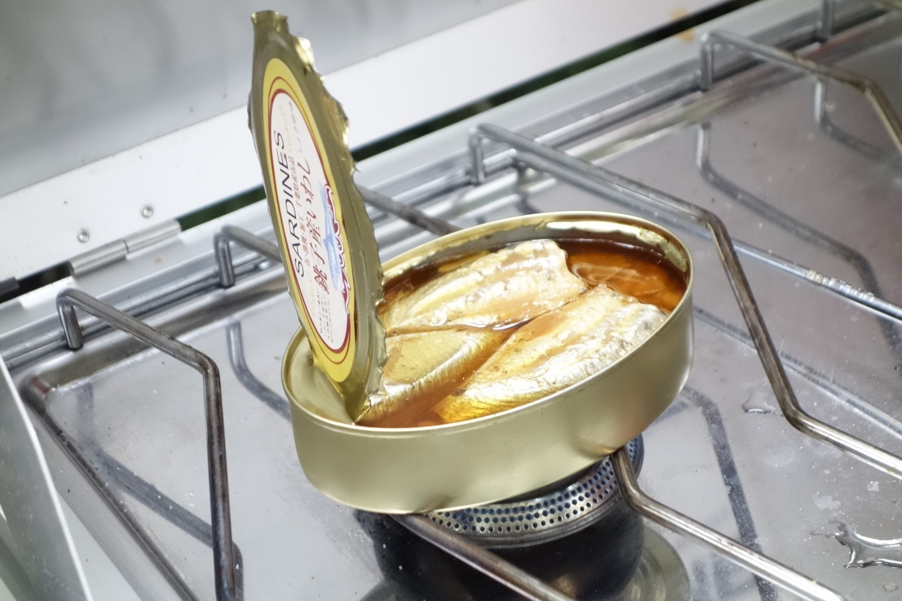 千葉の美味しいいわしの缶詰。