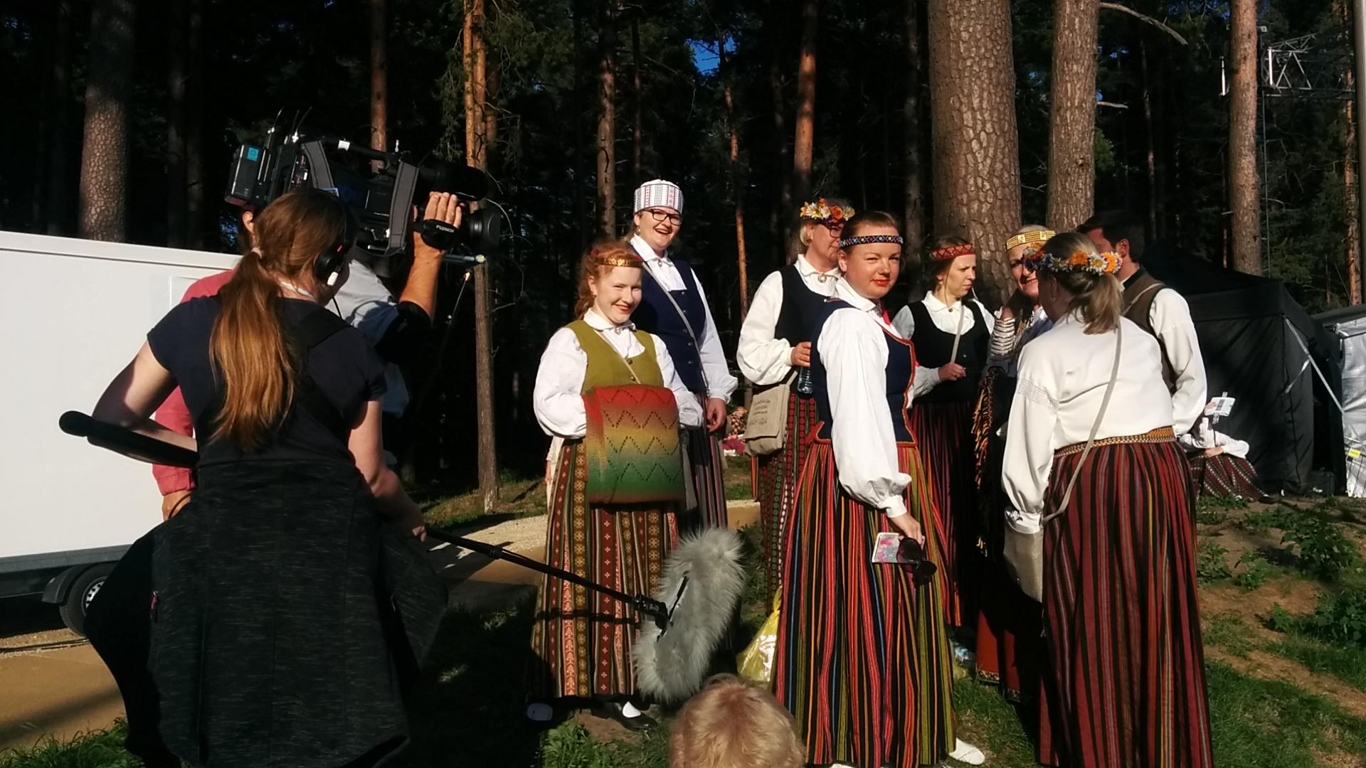 NDR filmē Dziesmu svētkus un Ziemeļvācijas latviešu kori
