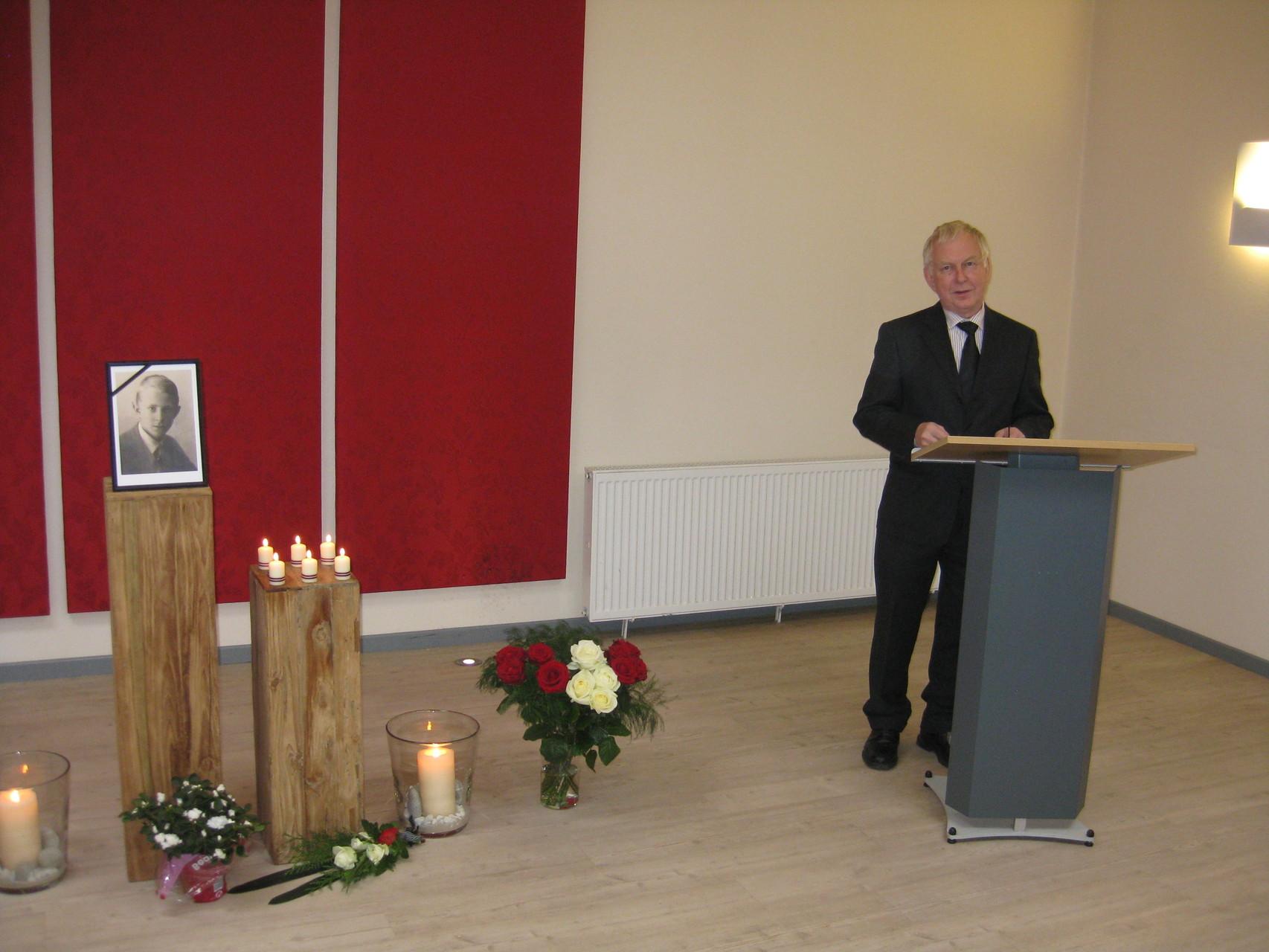 Latviešu Biedrības Hamburgā priekšsēdis Dr. Andris Zemītis