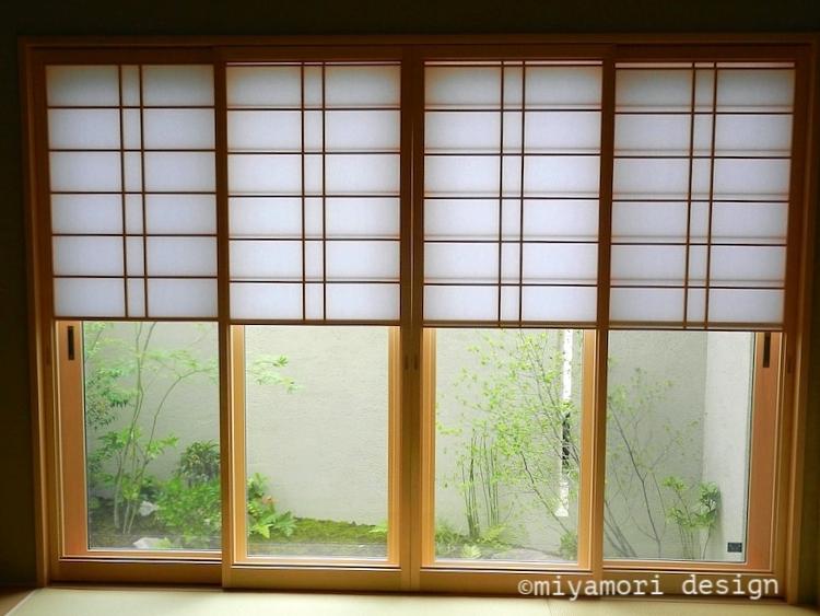 和室からの眺め©miyamoridesign
