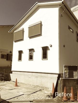 施工前:建物全体