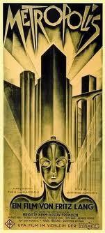 Affiche du film Métropis de Fritz Lang, 1927.