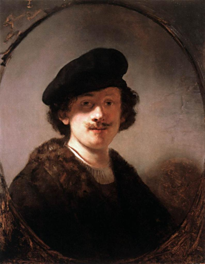 1634 Autoportrait Huile sur bois, 71 × 55 cm  Collection particulière
