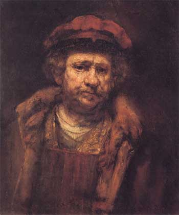 1659 autoportrait Staatsgalerie