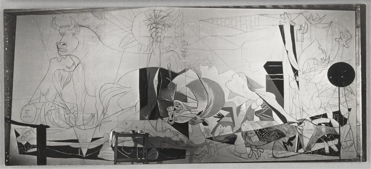 Dora Maar, Guernica, état II, 1937, Musée Picasso, Paris.
