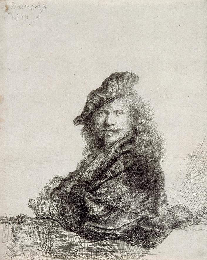 1639 Rembrandt Harmensz Paris, musée du Louvre
