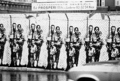 Une des images de la série Jumelage Nice-Le Cap, 1974.