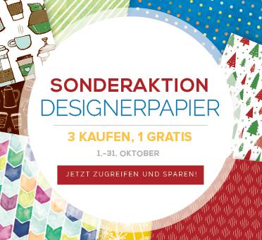 Designerpapier Designpapier Stampin Up Aktion