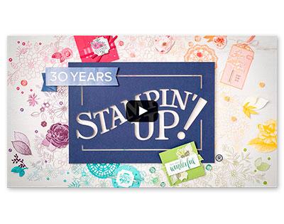 Stampin' Up! Jahreskatalog 2018 2019 Video Vorspann Eindruck