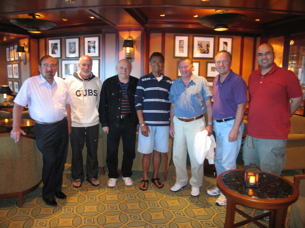 With brethren from different jurisdictions (UK, Brazil, Mexico, US, Canada & the Philippines) aboard the Princess Cruise