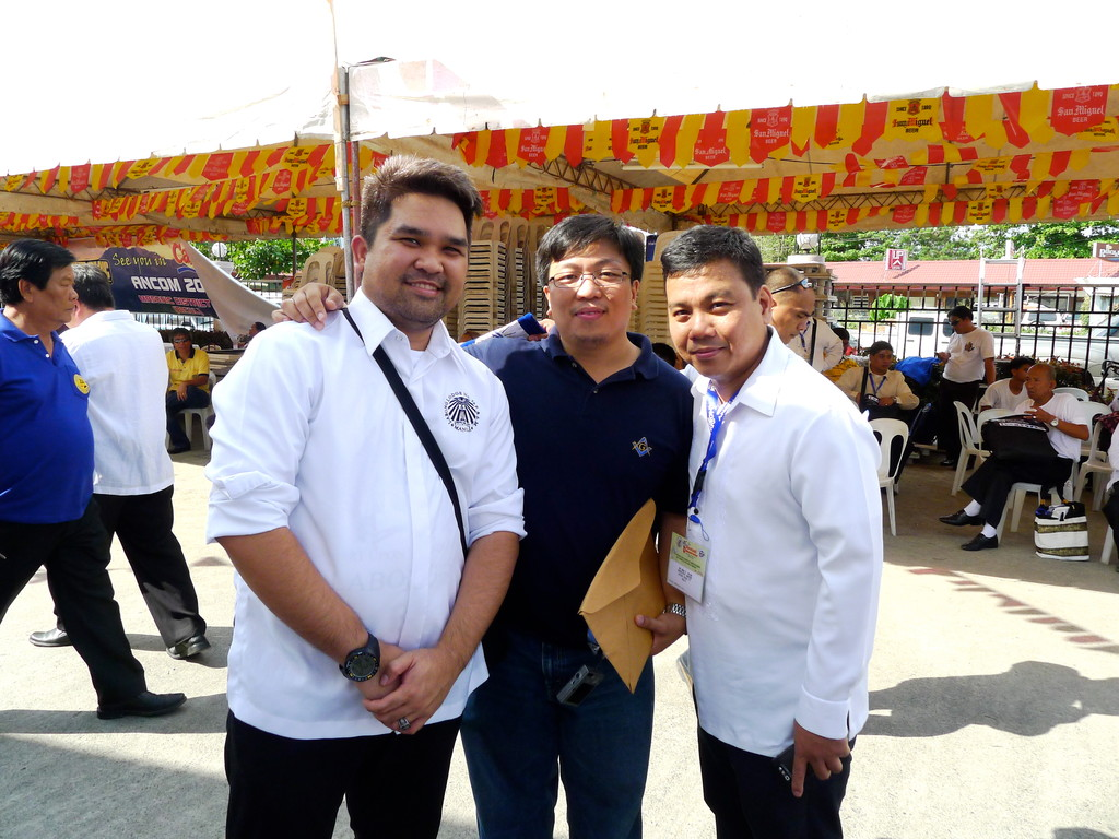With brothers from Batong Buhay Lodge No. 27