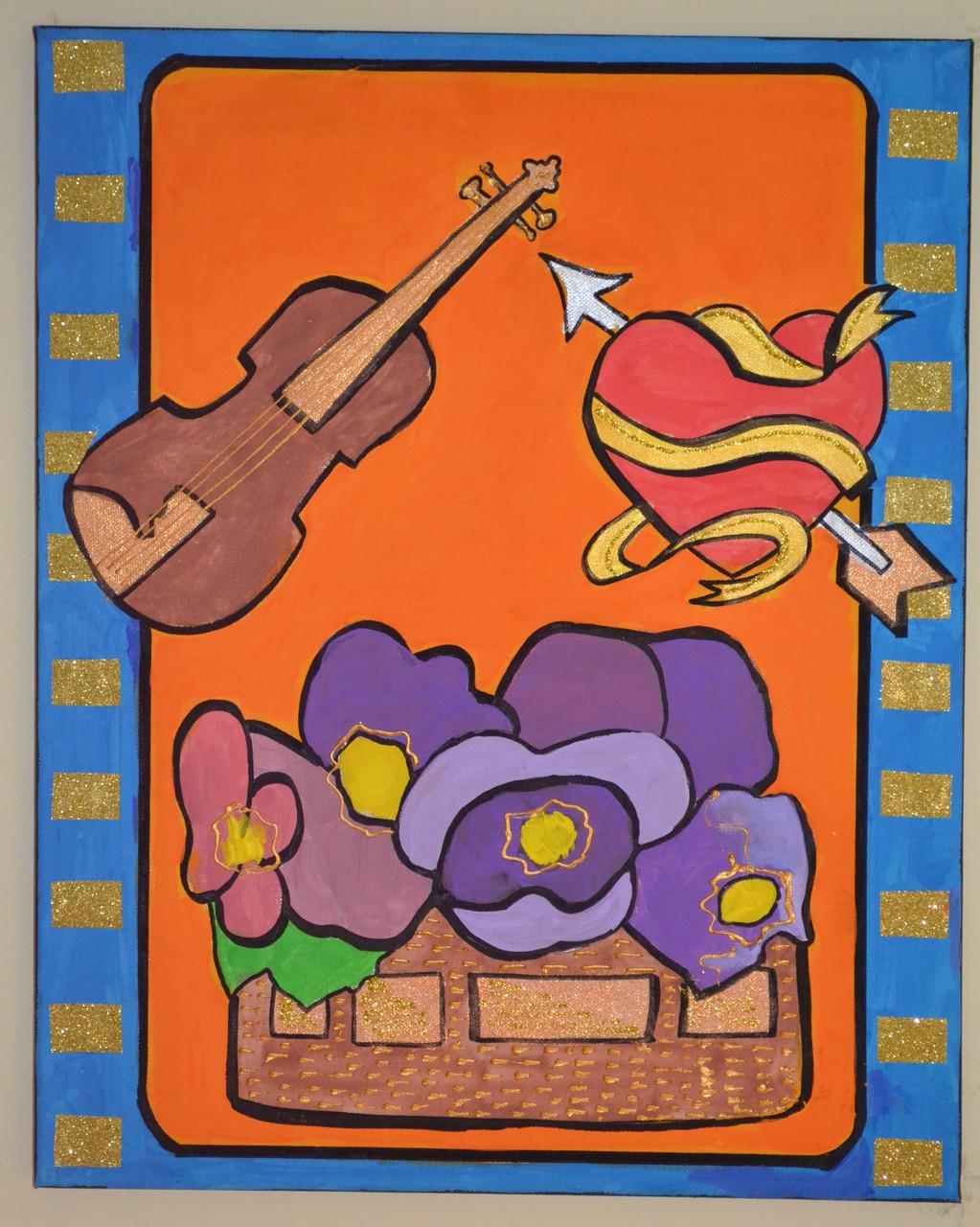 I quadri dipinti dai bambini!