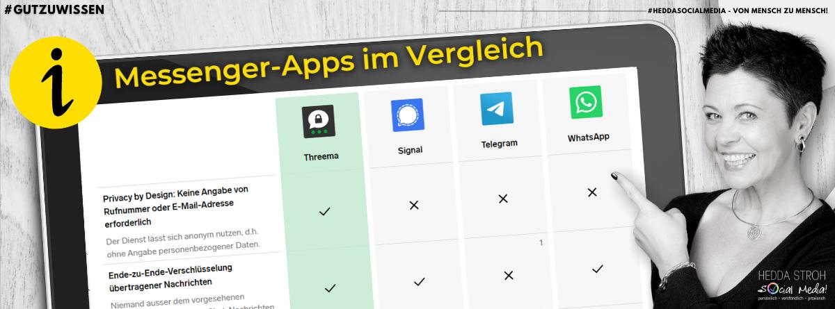 WhatsApp: Änderungen & alternative Messengerdienste