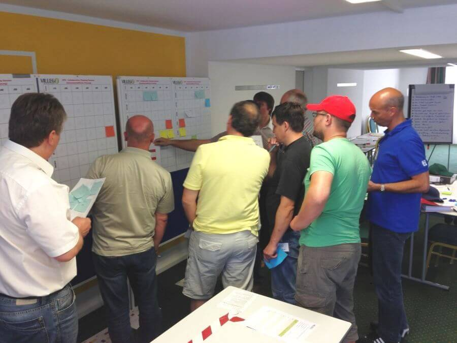 Lean Construction Workshop - Pull-Planung 2