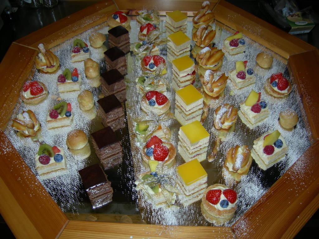 Silvester- Dessertbuffet