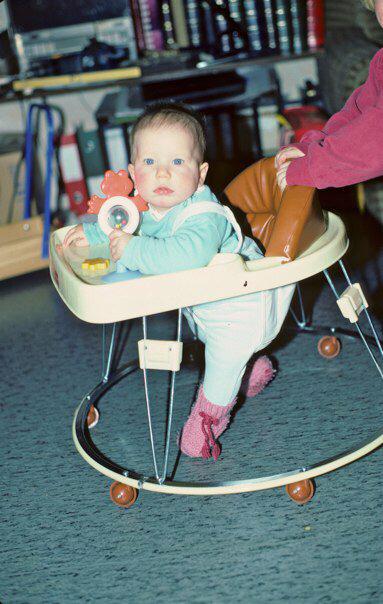 Baby im Gehfrei, 1984