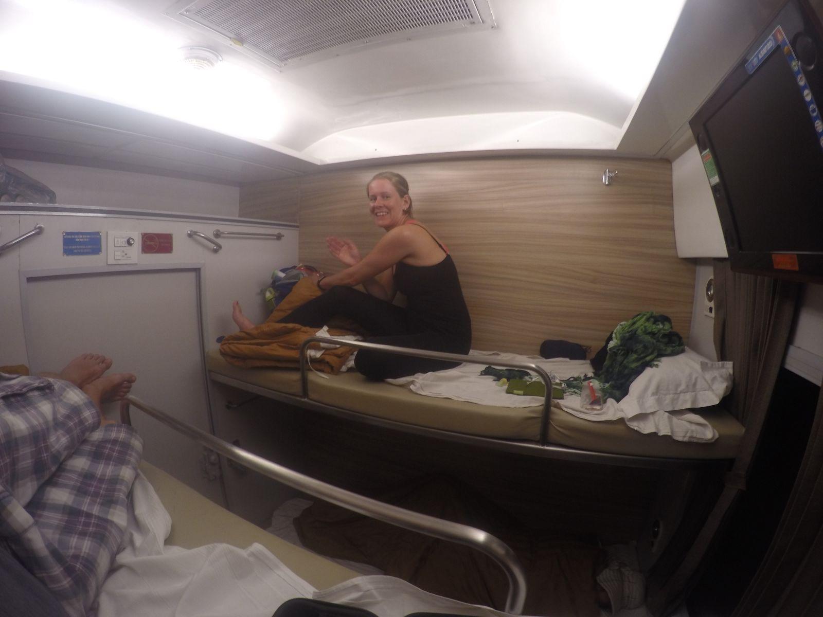 Nachtzug nach Hanoi