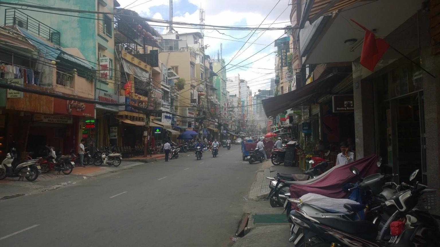 Die Straßen von HCMC