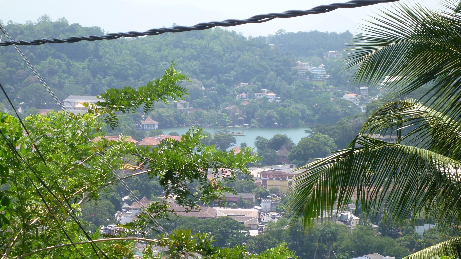 Blick auf Kandy