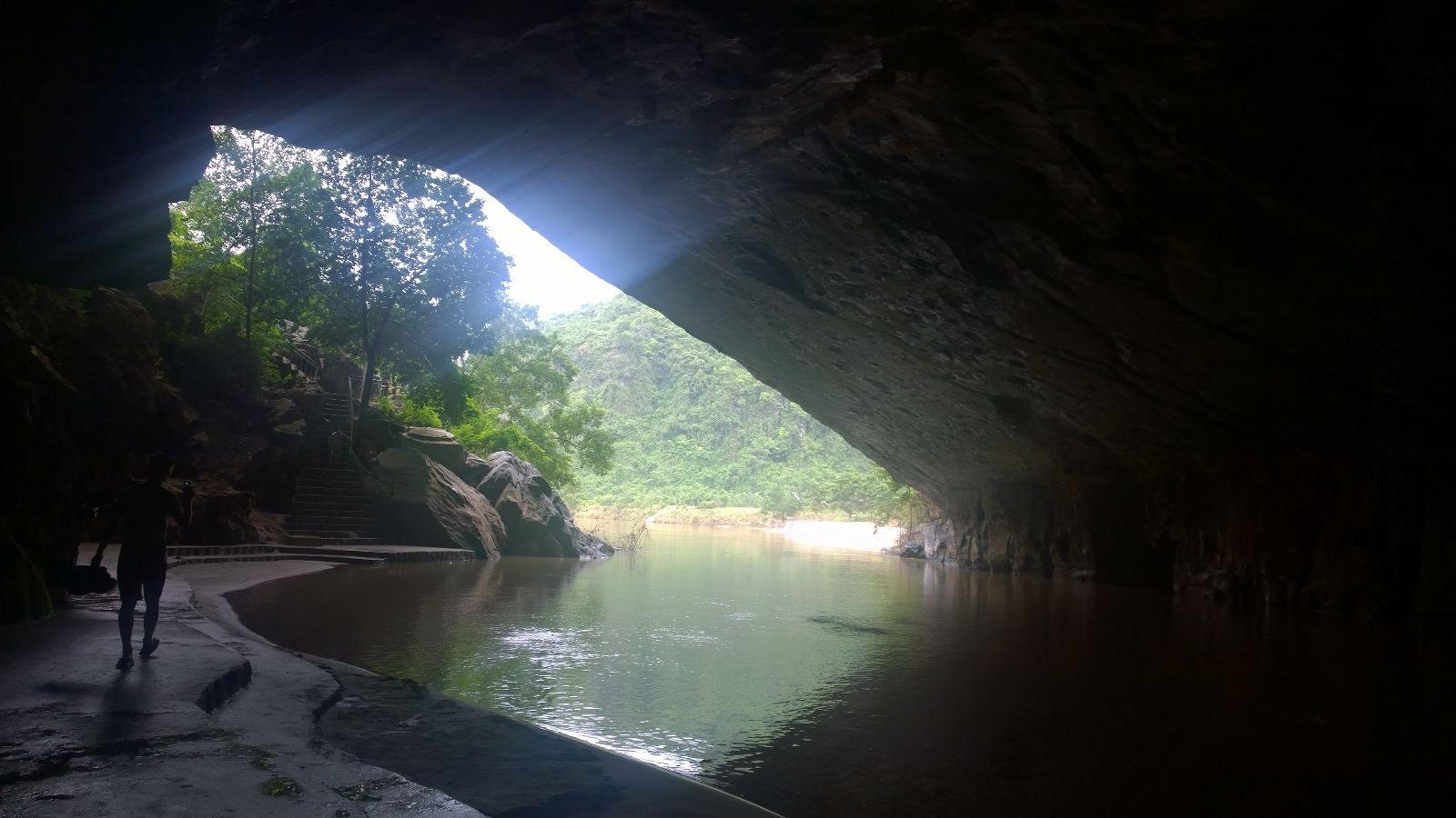 Höhle im Phong Nha Ke Bang