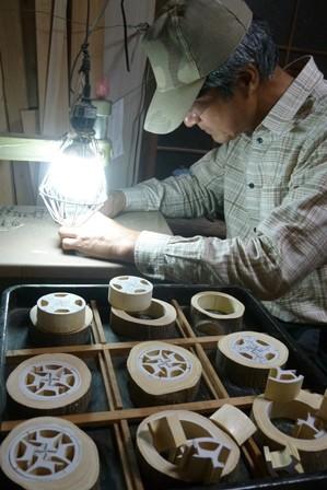 干支午 馬の箸置きorパズル 切り抜き作業