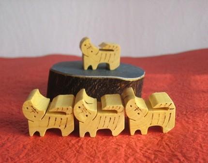 干支寅 箸置きorパズル