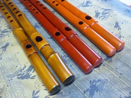 小龍 女竹製・真竹製横笛 highD管