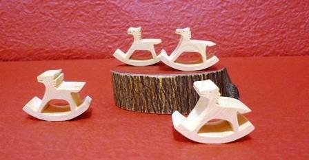 干支午 箸置きorパズル みかんの木のクラフトシリーズ