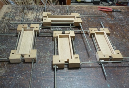 木の筆箱 本組み立て